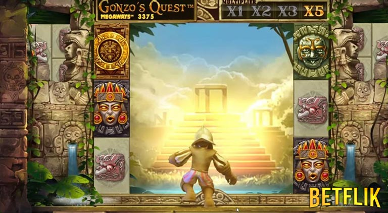 BETFLIK.ME | Gonzo Quest Megaways (NetEnt)