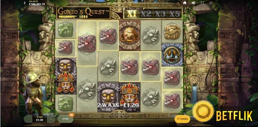 BETFLIK.ME | Gonzo Quest (NetEnt)